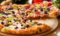 Пицца домашняя по-гречески