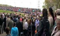 Видео: суета на 9 мая в Рубцовске