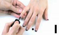 Видео: Nail Art Треугольный френч