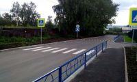 Пешеходные ограждения на автомобильных дорогах и пешеходных переходах