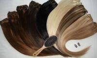 Волосы на заколках – удобно и популярно