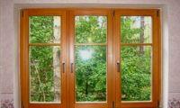 Окна для дачи из дерева