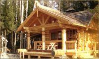 Строительство домов и бань из бревна ручной рубки