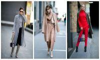Женская мода на весеннюю верхнюю одежду