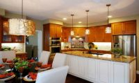 Как правильно подобрать светильники для кухни?