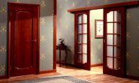 Варианты открывания межкомнатных дверей
