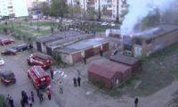 Видео: Пожар в Рубцовске