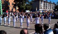 Видео: молодожены Рубцовска на День города 2012