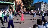 Видео: серпантин на День города Рубцовска