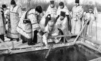 В Рубцовске прошли Крещенские купания: как это было