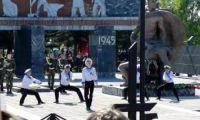 Видео: Рубцовск на Параде Победы
