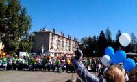 Видео: Молодые мамы на День города Рубцовска