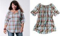 Блузки для полных женщин, которые их стройнят