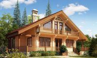 Преимущества дома из бруса