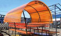 Сотовый поликарбонат коньячного цвета: ключевые достоинства материала