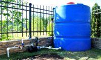 Емкости для воды на даче