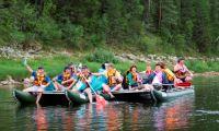 Чем славится сплав по реке Вишера на Урале