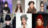 Модные тенденции головных уборов на предстоящую весну 2018 года