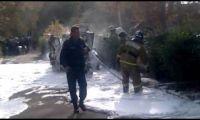 Видео: рубцовские пожарники