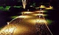 Дизайнерский подход к декоративному освещению на загородном участке