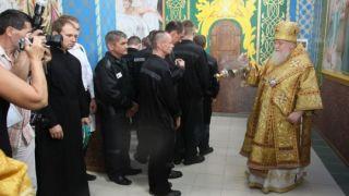 В Рубцовске в исправительной колонии №5 отремонтировали Храм