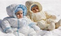 Первая одежда для новорожденных зимой