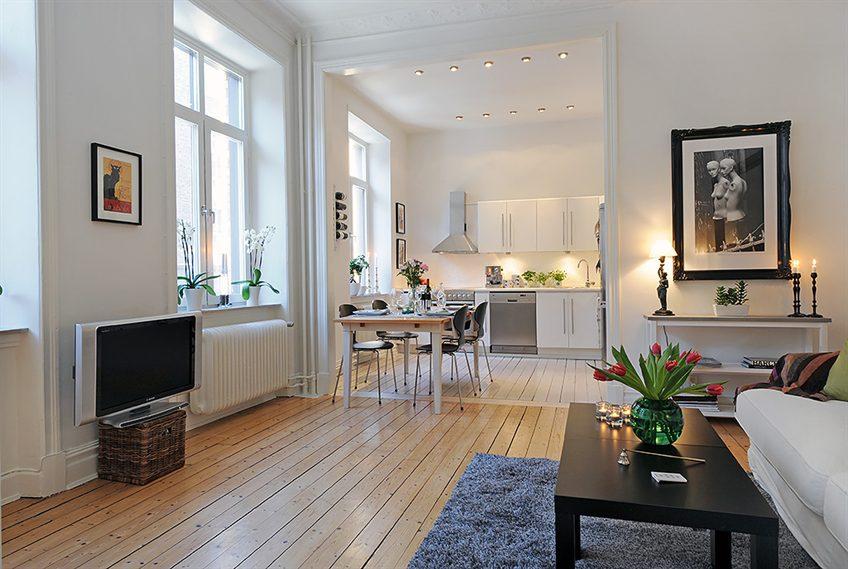 Как украсить однокомнатную квартиру фото