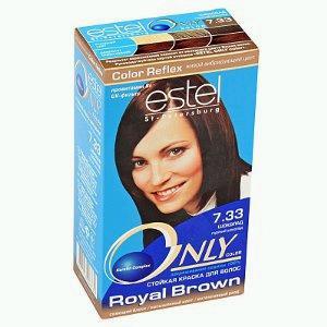 Темный шоколад краска для волос эстель