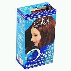 Краска для волос коньяк эстель