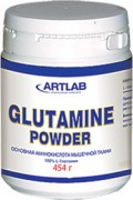 Glutamine powder 454 гр