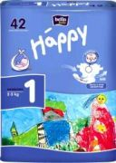 Подгузники Happy NewBorn 2-5 кг. 42шт