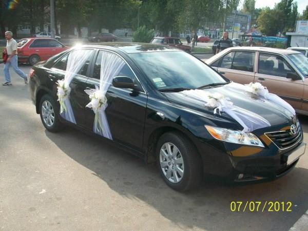 Украсить автомобиль на свадьбу своими руками