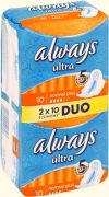 Прокладки ALWAYS Ultra Normal Plus Duo 20шт