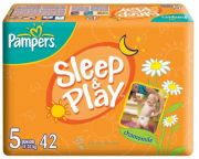 Памперсы Sleep & Play с Ромашкой Junior 42шт №5