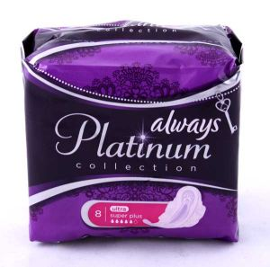 Прокладки ALWAYS Ultra Platinum Collection Super Plus Single 8шт  ― е-Рубцовск.рф