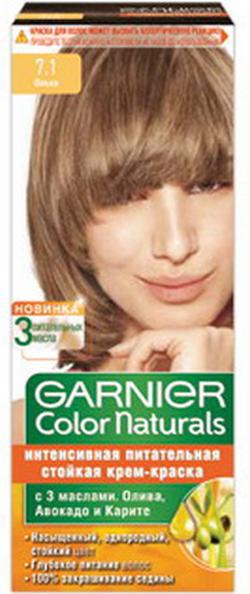 Краска для волос гарньер ольха 7.1