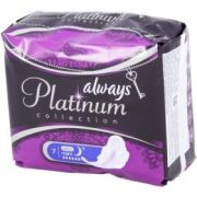 Прокладки ALWAYS Ultra Platinum Collection Night Single 7шт