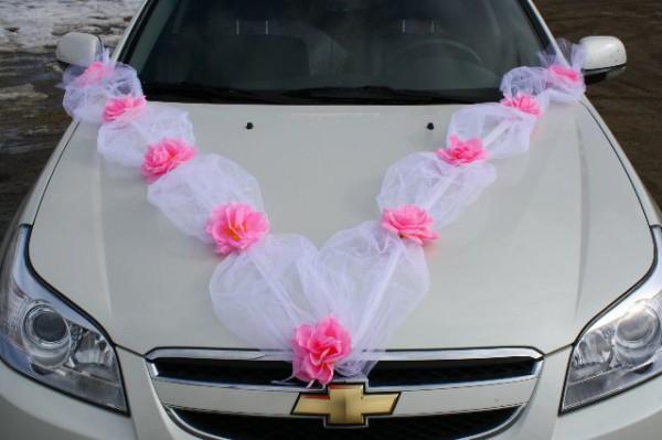 Лента на свадебные машины своими руками