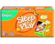 Памперсы Sleep & Play с Ромашкой макси 50шт 7-18кг